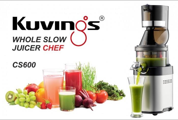 Máy ép trái cây Kuvings Chef CS600 giá KM0
