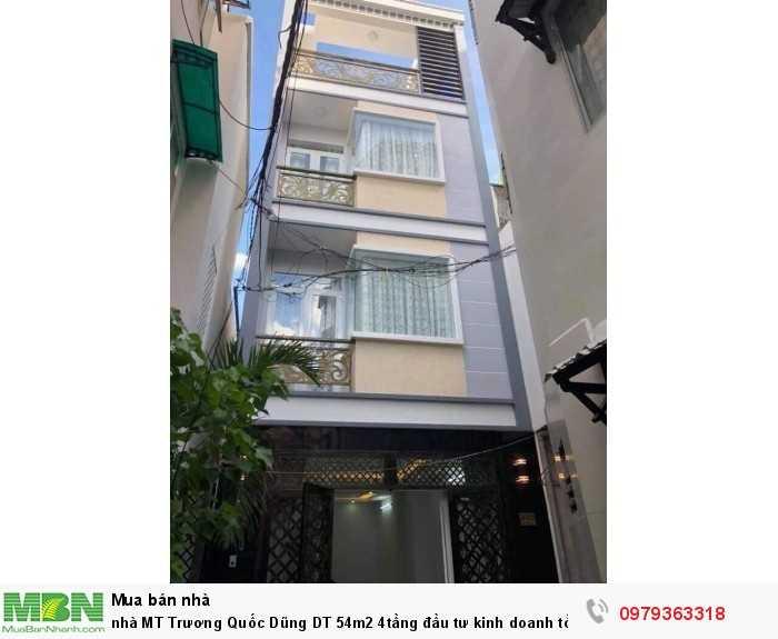 Nhà MT Trương Quốc Dũng DT 54m2 4tầng đầu tư kinh doanh tốt
