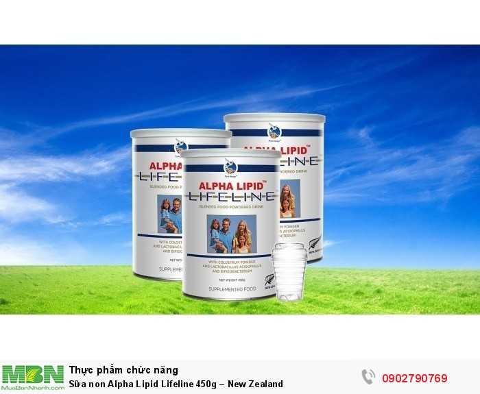 Sữa non Alpha Lipid Lifeline 450g – New Zealand1