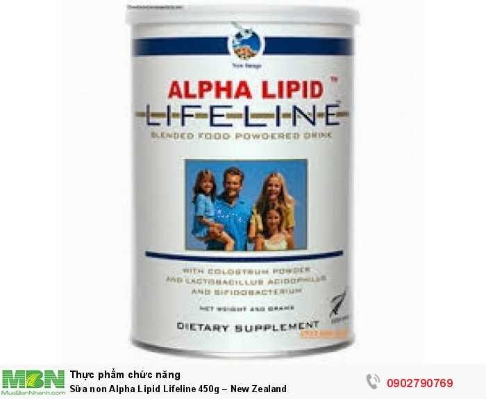 Sữa non Alpha Lipid Lifeline 450g – New Zealand3