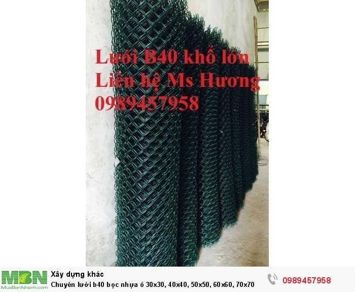 Chuyên lưới b40 bọc nhựa ô 30x30, 40x40, 50x50, 60x60, Lưới làm sân tennis6
