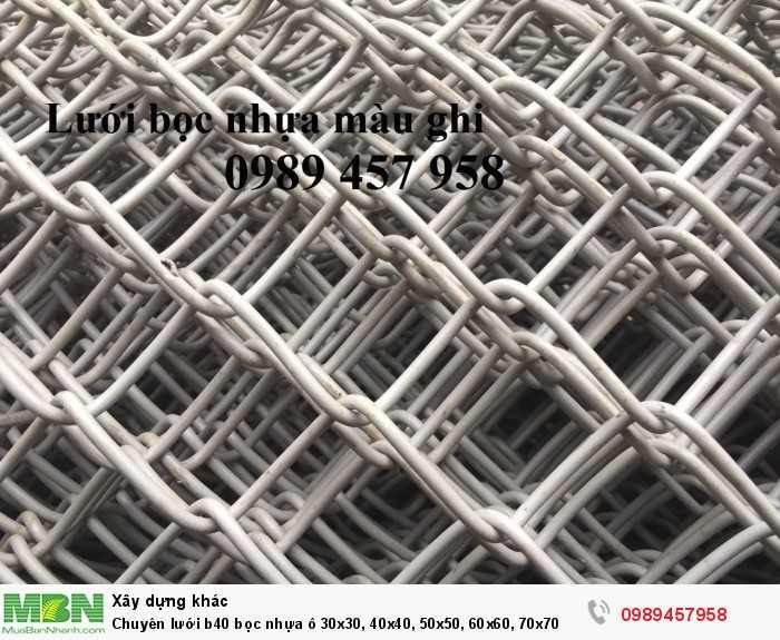 Chuyên lưới b40 bọc nhựa ô 30x30, 40x40, 50x50, 60x60, Lưới làm sân tennis7