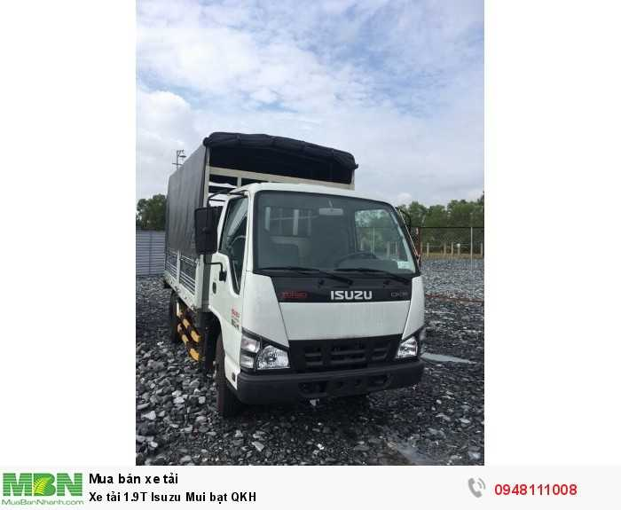 Xe tải 1.9T Isuzu Mui bạt QKH