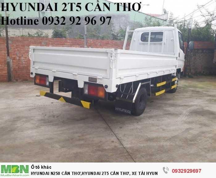 Hyundai n250 cần thơ,hyundai 2t5 cần thơ, xe tải hyundai n250 cần thơ