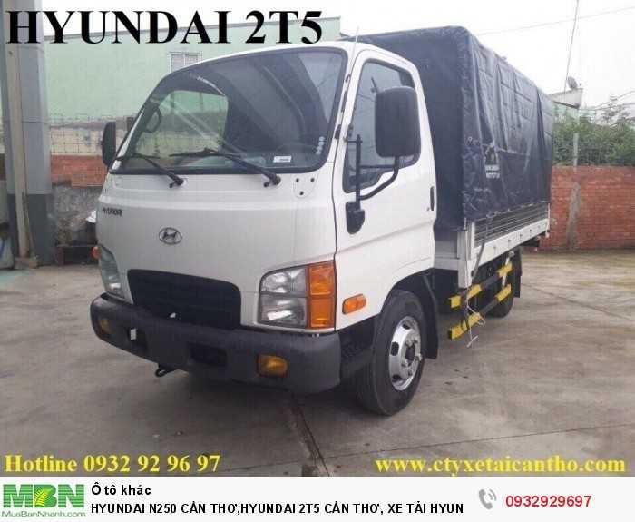 Hyundai n250 cần thơ,hyundai 2t5 cần thơ, xe tải hyundai n250 cần thơ 2