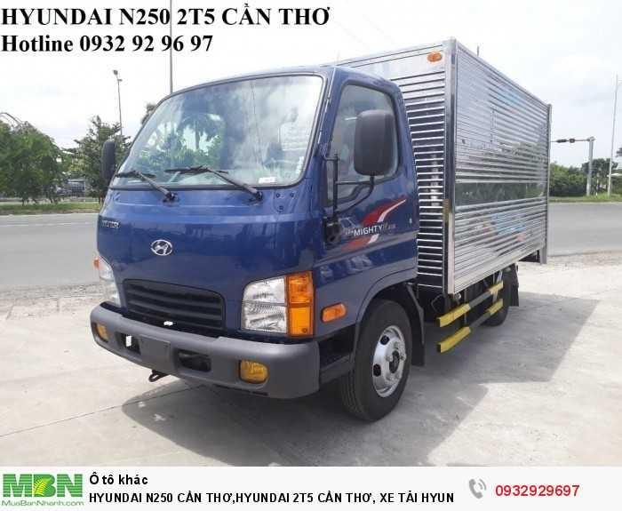 Hyundai n250 cần thơ,hyundai 2t5 cần thơ, xe tải hyundai n250 cần thơ 3