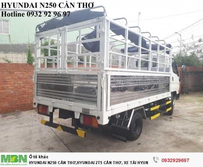 Hyundai n250 cần thơ,hyundai 2t5 cần thơ, xe tải hyundai n250 cần thơ 4