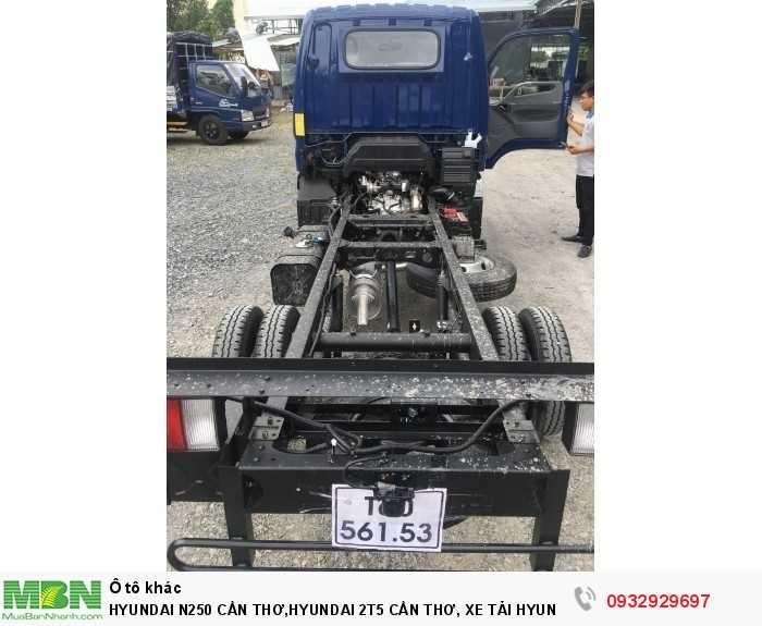 Hyundai n250 cần thơ,hyundai 2t5 cần thơ, xe tải hyundai n250 cần thơ 5