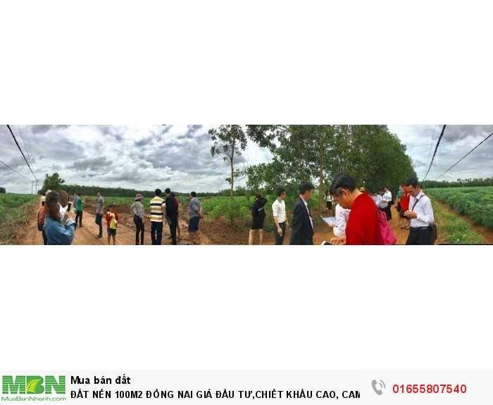 Đất Nền 100m2 Đồng Nai Giá Đầu Tư,Chiết Khấu Cao, Cam Kết Lợi Nhuận Rõ Ràng