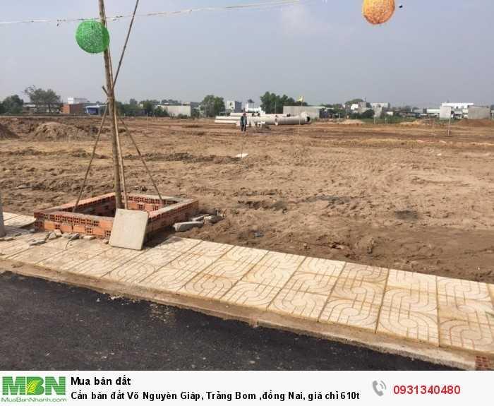 Cần bán đất Võ Nguyên Giáp, Trảng Bom Đồng Nai, giá chỉ 610tr. sổ riêng