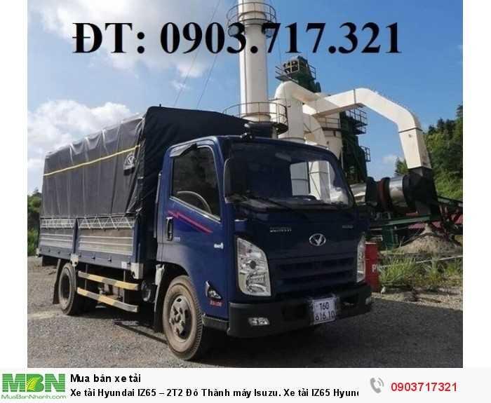 Xe tải Hyundai IZ65 – 2T2 Đô Thành máy Isuzu. Xe tải IZ65 Hyundai Đô Thành 2T2