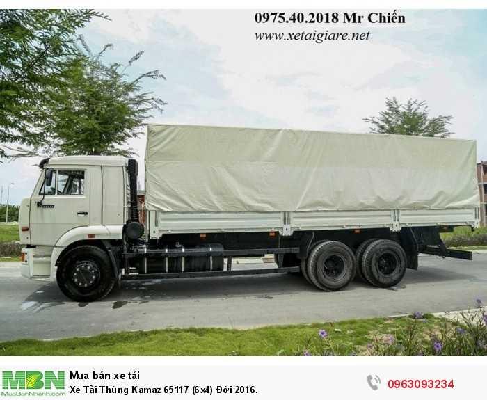 Xe Tải Thùng Kamaz 65117 (6x4) Đời 2016.