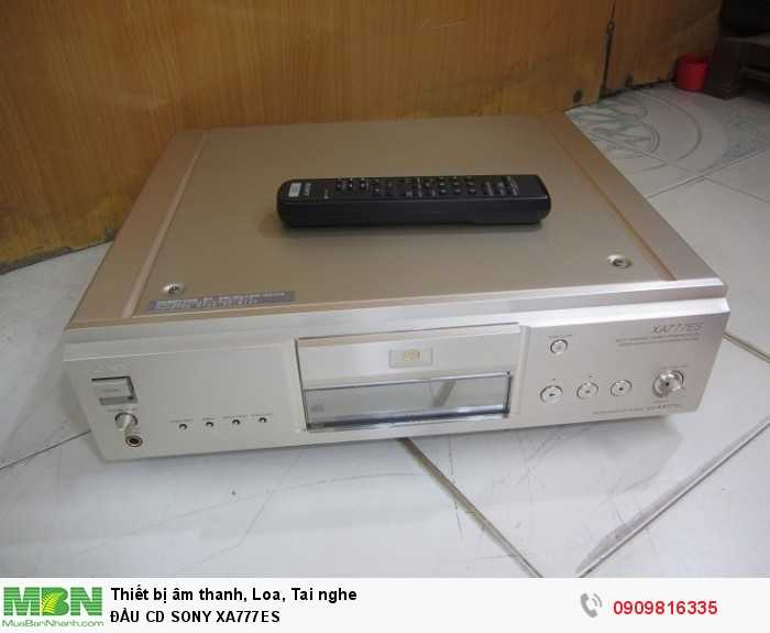 Đầu Cd Sony Xa777es