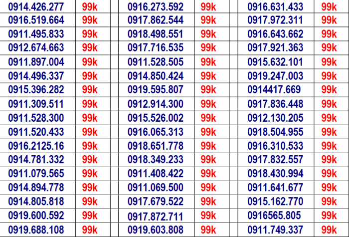 sim VINA giá rẻ,.. miễn phí ship vơi hóa đơn từ 2 sim27