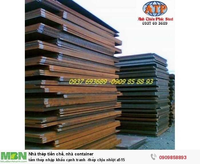 [1] Tấm thép nhập khẩu cạnh tranh -thép chịu nhiệt a515
