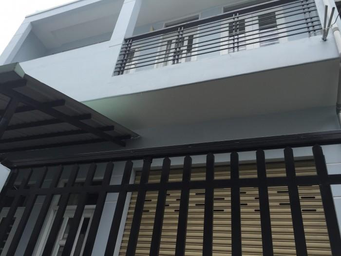 Cho thuê nhà 1 trệt 1 lầu mới, sạch đẹp, đường 22 P Bình Trưng Tây chỉ 7tr/tháng