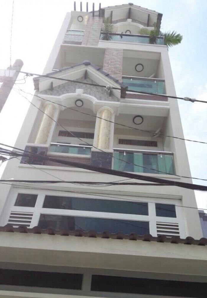 Nhà mặt tiền Hai Bà Trưng,Bến Nghé, quận 1, ngang 5mX30m,3 lầu