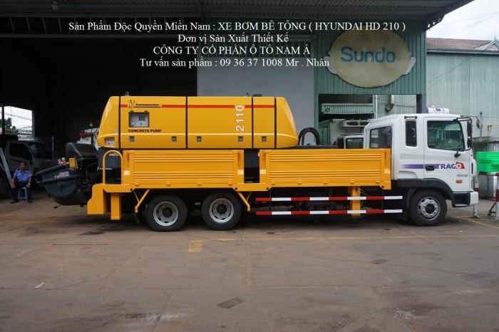 Độc quyền miền nam : Xe tải Hyundai Hd210 gắn Bơm Bê tông