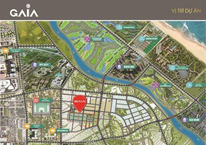 Thật dễ dàng để sở hữu đất nền giá rẻ tuyệt đẹp tại Gaia city  kề Cocobay, giáp  sông gần biển là dự án đang