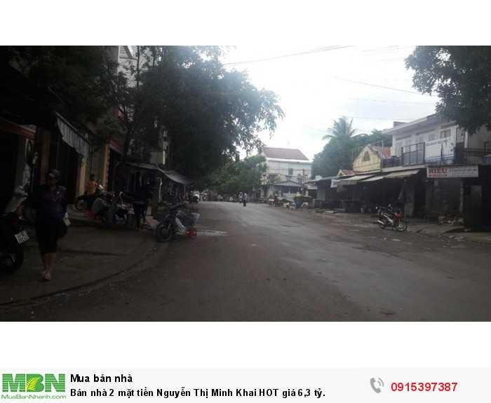 Bán nhà 2 mặt tiền Nguyễn Thị Minh Khai HOT giá 6,3 tỷ.