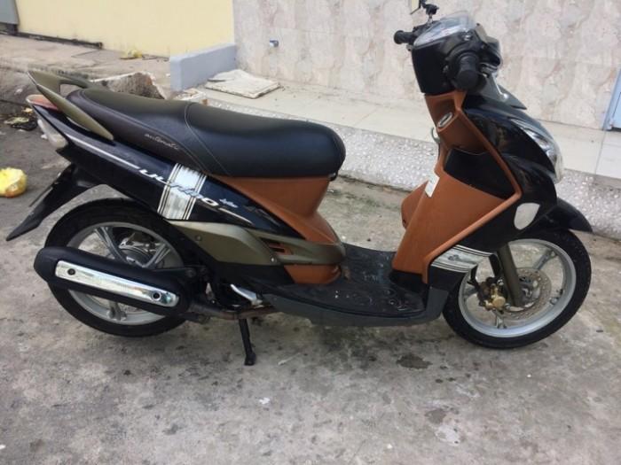 Xe Mio Ultimo màu nâu đen dáng nhỏ xinh tiết kiệm nhiên liệu 0