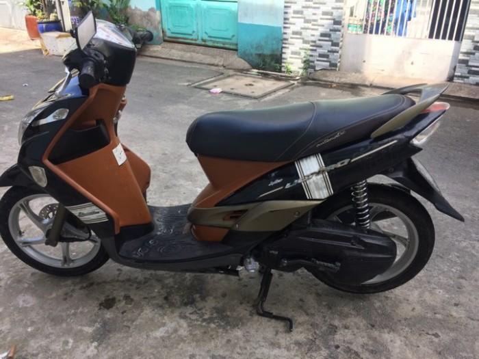 Xe Mio Ultimo màu nâu đen dáng nhỏ xinh tiết kiệm nhiên liệu 1