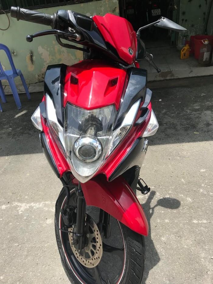 Yamaha Nouvo 5 Fi đk 2013 đỏ đen cực đẹp 2