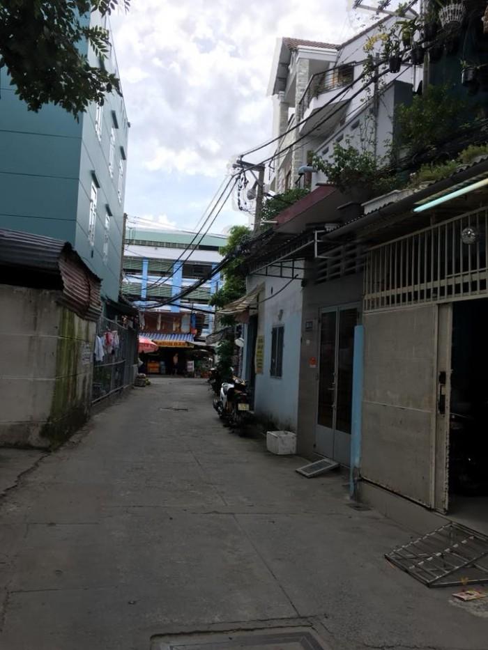 Bán  nhà MT Nguyễn Sáng, P. Tây Thạnh, 4.65x13m, 3.5 tấm, giá 5.3 tỷ