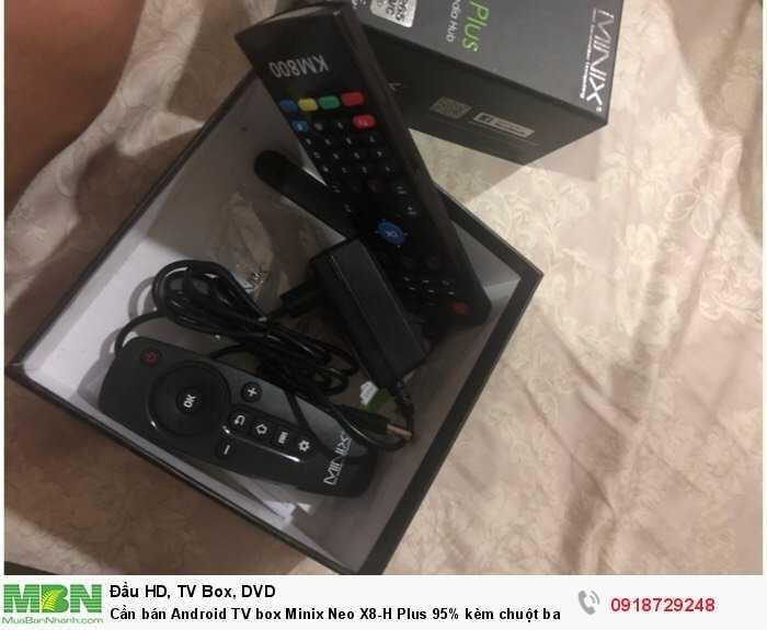 Cần bán Android TV box Minix Neo X8-H Plus 95% kèm chuột bay0