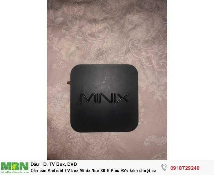 Cần bán Android TV box Minix Neo X8-H Plus 95% kèm chuột bay1