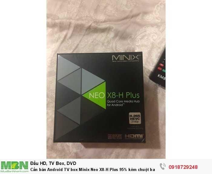 Cần bán Android TV box Minix Neo X8-H Plus 95% kèm chuột bay2