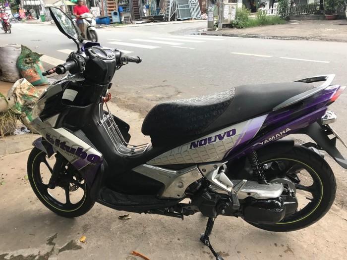 Yamaha Nouvo 5 Fi, đời 2013, màu trắng tím