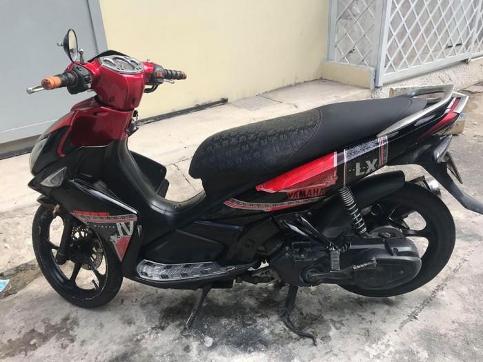 Nouvo LX xe màu đỏ đen hình thật 2