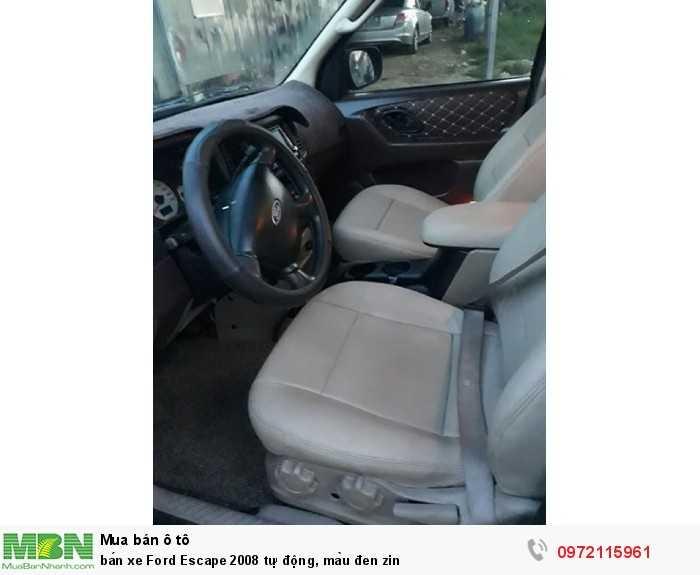 Bán xe Ford Escape 2008 tự động, màu đen zin 1