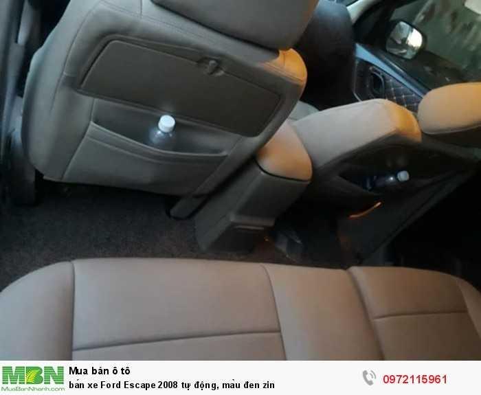 Bán xe Ford Escape 2008 tự động, màu đen zin 2