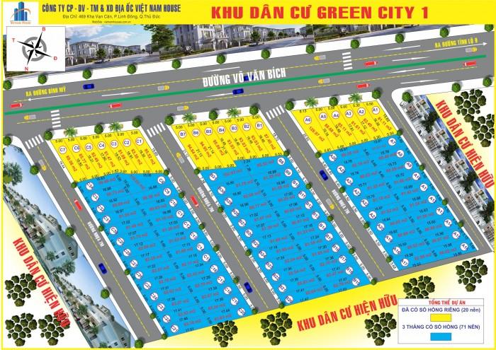 Mở bán KDC MT Võ Văn Bích, Sổ Riêng, Hạ Tầng hoàn thiện, bao giấy phép xây dựng