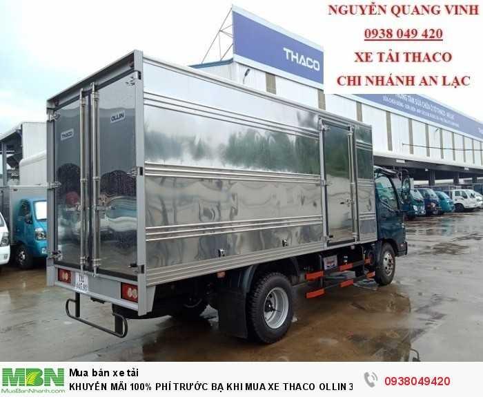 Xe tải Trường Hải - Thaco Thaco Ollin 350.E4 - Thùng dài 4m4 - Tải trọng 2tấn - Mới nhất - Bán Xe Trả Góp 5