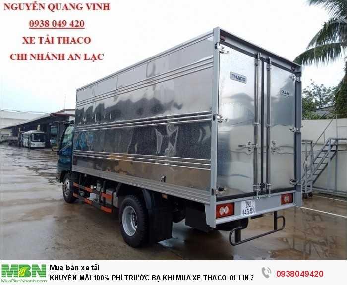 Xe tải Trường Hải - Thaco Thaco Ollin 350.E4 - Thùng dài 4m4 - Tải trọng 2tấn - Mới nhất - Bán Xe Trả Góp 7