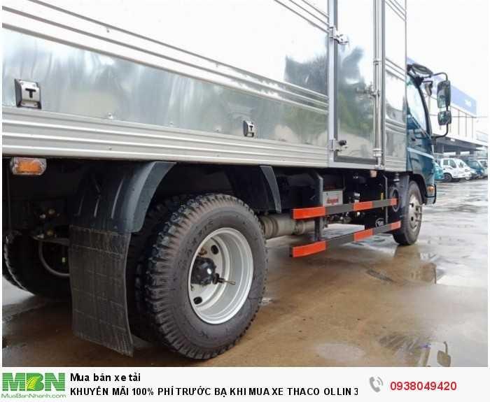 Xe tải Trường Hải - Thaco Thaco Ollin 350.E4 - Thùng dài 4m4 - Tải trọng 2tấn - Mới nhất - Bán Xe Trả Góp 8