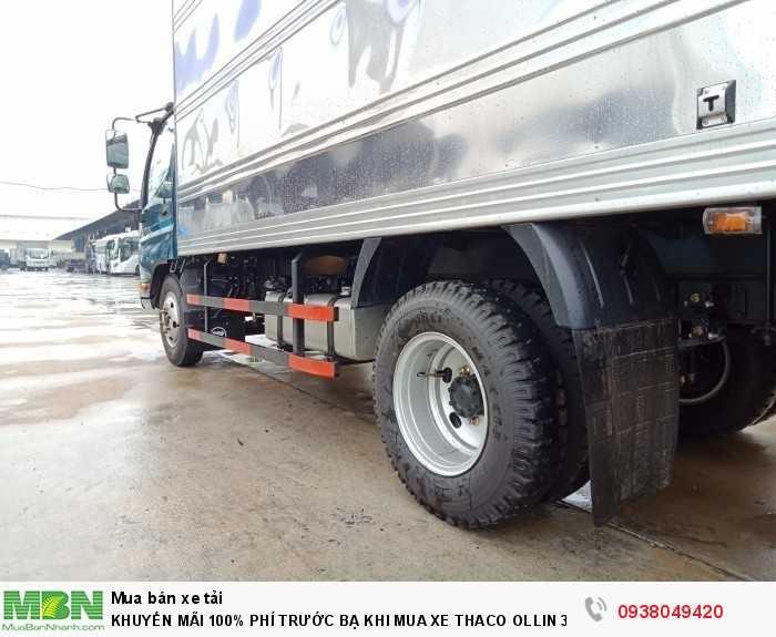 Xe tải Trường Hải - Thaco Thaco Ollin 350.E4 - Thùng dài 4m4 - Tải trọng 2tấn - Mới nhất - Bán Xe Trả Góp 9