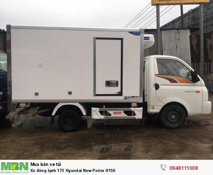 Xe đông lạnh 1T5 Hyundai New Porter H150