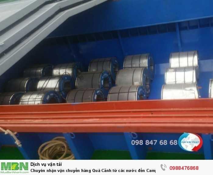 Chuyên nhận vận chuyển hàng Quá Cảnh từ các nước đến Campuchia bằng xà lan