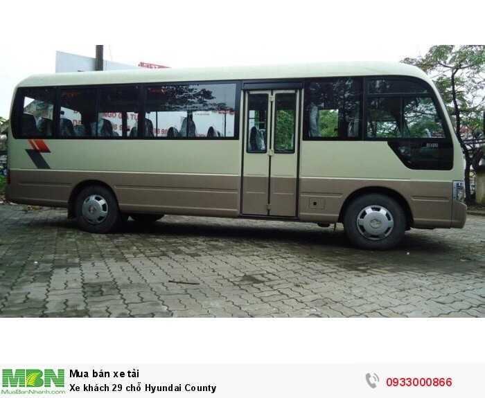 Xe khách 29 chỗ Hyundai County