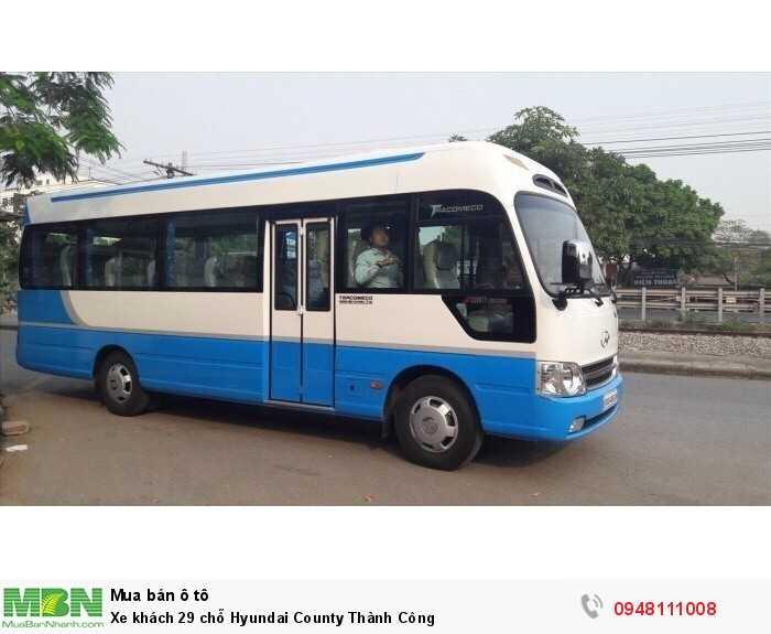 Xe khách 29 chỗ Hyundai County Thành Công