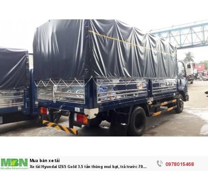 Khuyến mãi mua xe tải Hyundai IZ65 Gole 3.5 tấn, trả trước 70 triệu, giao xe ngay - Hotline: 0978015468 (Mr Giang 24/24)