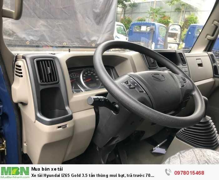 Khuyến mãi mua xe tải Hyundai IZ65 Gole 3.5 tấn thùng mui bạt, trả trước 70 triệu, giao xe ngay - Hotline: 0978015468 (Mr Giang 24/24)