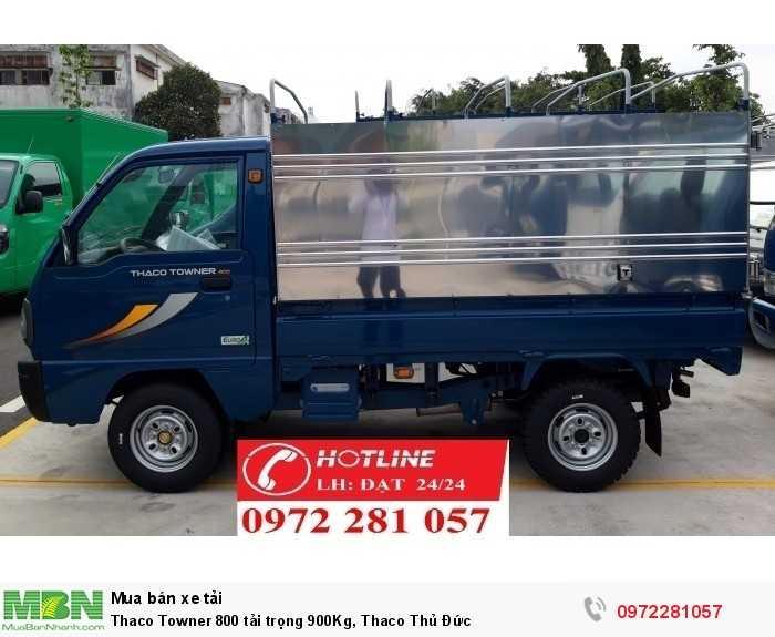 Thaco Towner 800 tải trọng 900Kg, Thaco Thủ Đức