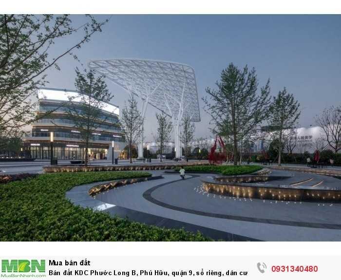 Bán đất KDC Phước Long B, Phú Hữu, quận 9, sổ riêng, dân cư hiện hữu