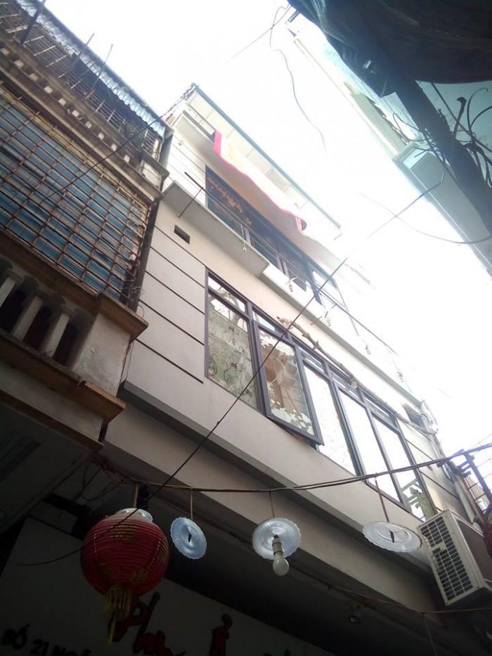 Nhà ngõ ô tô Thái Hà Đống Đa 4 tầng mặt tiền 5,3m diện tích 78m2 đang KD nhà hàng