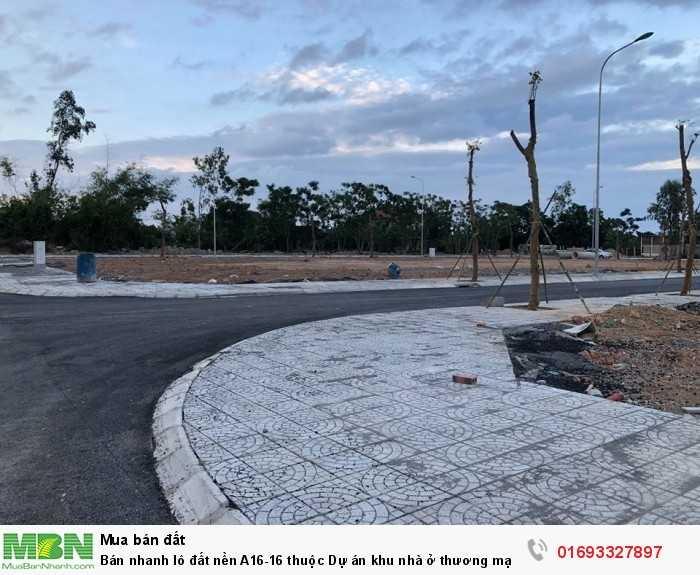 Bán nhanh lô đất nền A16-16 thuộc Dự án khu nhà ở thương mại Trường Thịnh A, Đồng Hới, Quảng Bình